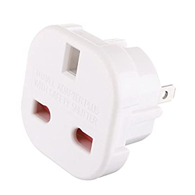 Gadgets Hut UK - 2 x UK to US Travel Adaptor suitable for USA, Canada, Australia, Mexico, Thailand - Refer to Product Description for Country list : everything five pounds (or less!)