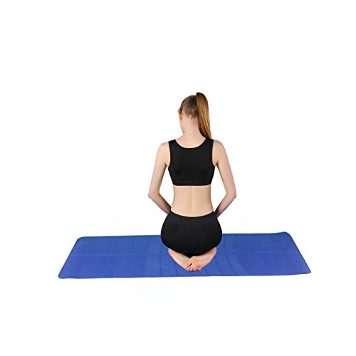 Damen Bustier Sport-BH Starker Halt Push Up Gepolsterter Ohne Bügel Mit Polster Für Run Yoga Fitness-Training Schwarz