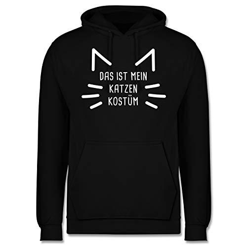 Und Pink Kostüm Schwarz Katze - Shirtracer Karneval & Fasching - Das ist Mein Katzen Kostüm - XL - Schwarz - JH001 - Herren Hoodie