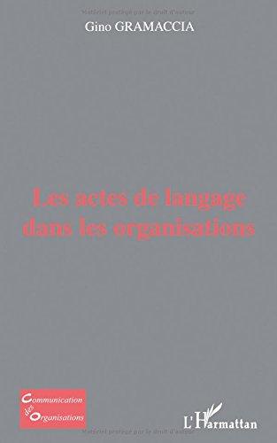 Les actes de langage dans les organisations