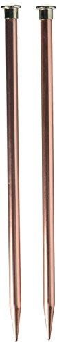 Boye 13/9 mm Single Point Aiguilles à Tricoter en Aluminium, 25,4 cm