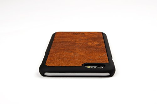 WoodWe Natural Stone Protective Handmade Case / Cover | For Iphone 6 / 6s | Authentic & Stylish | Ethically Sourced | ARKOBALENTO CALORE Rust