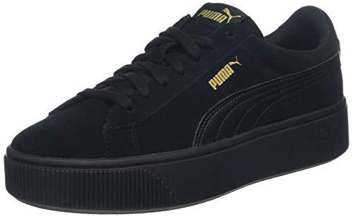 Puma Damen Vikky Stacked Sd Sneaker, Schwarz (Puma Black-Puma Black 01), 39 EU