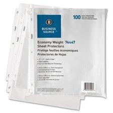 Sheet Protectors,Top Load,3HP,2.0mil,11