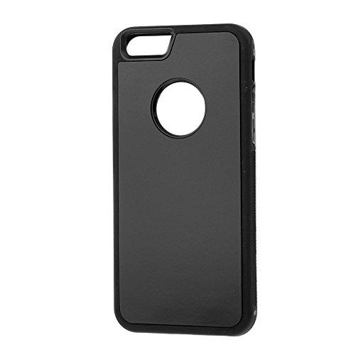 Generic Anti-Schwerkraft Selfie Magischen Nano Technology Klebrige Schutzhülle Für Iphone 6 / 6s - schwarz schwarz