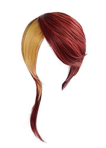Mesky Anime Damen Perücke Damen Wig Land of The Lustrous Rutile Cosplay Kostüm Zubehör für Party, Karneval und Fasching Mädchen Haarteil mit kostenlosem Haarnetz Leich Bequem (Damen Land Mädchen Kostüm)