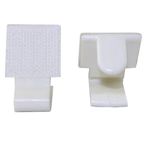 (navadeal weiß Tischdecke Clips für Tisch 2–3,5cm, 50Stück)