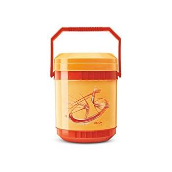 Milton Mariner Deluxe 3 Plastic Leak Lock Tiffin Box Set, 4-Pieces, Orange