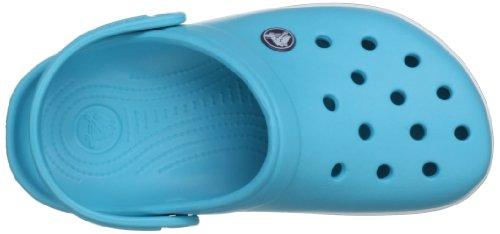 Crocs Crocband Kids, A bout rond mixte enfant Bleu (Surf/Navy)