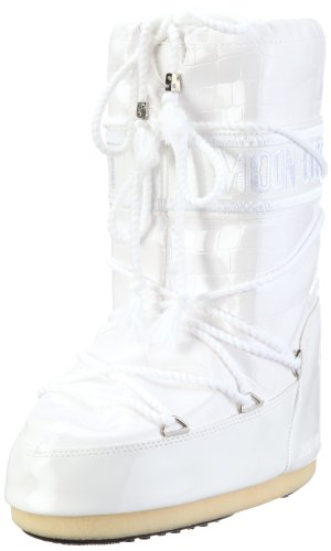 Tecnica Moonboot Crocodilo 14014800001 Unissex - Neve Adulto Boots Branco (branco 002)