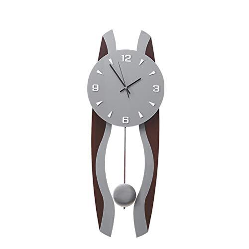 BGGZXX Mudo 10 Pulgadas Reloj De Pared Vintage Reloj De Péndulo Creativo, Salón Dormitorio Durable Sencillo