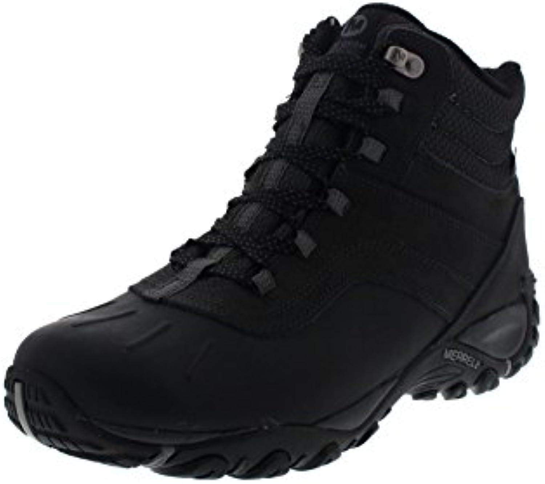 MERRELL Boots - ATMOST MID WTPF - black castle rock