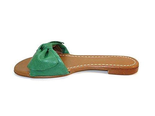 Lince , Tongs pour femme Vert
