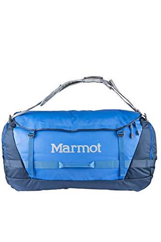 Marmot Long Hauler Duffel Bag Expedition, sac de Voyage Grand et robuste, Sport, XL Weekender Reisetasche, 50 cm, 125 liters, Blau (Peak Blue/Vintage Navy) -