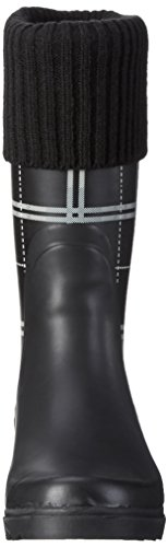 Beck - Classic, Stivali a metà gamba con imbottitura pesante Donna Nero (Schwarz (02))