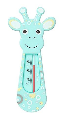 BabyOne Schwimmendes Badethermometer, Design: Giraffe, babysicher