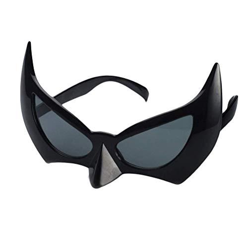 Heylookhere Party Maske Party Geschenk Fledermausauge Brille Batgirl Augenmaske Foto Requisite Halloween Cosplay Kostüm Maskenmaske Party Dekoration