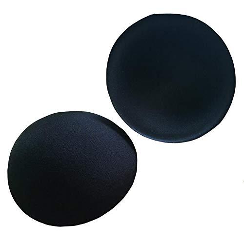 2 Paar runde BH-Verstärker, unsichtbare BH-Einlage, Polster, Push-Up-Form-Pads, schnelltrocknende Bezüge für Brustformung, Cup Lifting