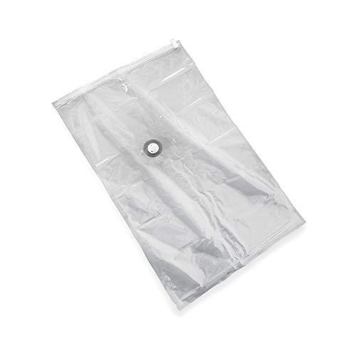 Store & style, sacco sottovuoto salvaspazio, xl, per 1 piumone matrimoniale e 2 cuscini, trasparente, 80 x 130 cm