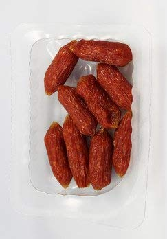 Chiemgauer Naturfleisch Bio Chiemis Pute luftgetrocknete Minisalami (6 x 40 gr)