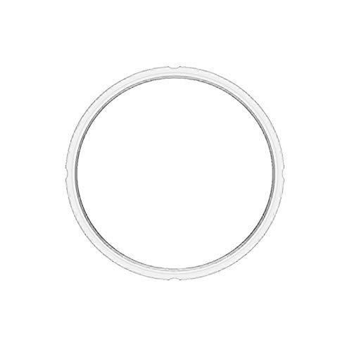 Faxiang Ersatz-Silikon-Dichtungsring Innendurchmesser 22 cm für elektrische Schnellkochtöpfe 5 l 6 l 6QT weiß (Ersatz 6 Topf Qt Topf,)