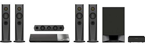 Sony BDV-N7200W 5.1 Blu-ray Heimkinosystem (1200 Watt, 4K UltraHD Upscaling, 3D, WLAN, Smart TV, Bluetooth, NFC, Spotify) schwarz - 2