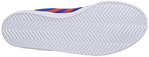 adidas - Kiel, Scarpe da barca  infantile Blu (Collegiate Navy/Red/Ftwr White)