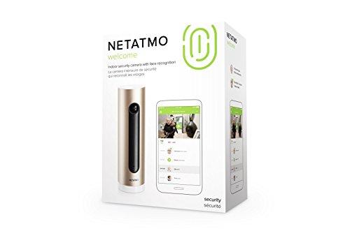 31vZMfzWV7L [Bon Plan Netatmo] Netatmo – Welcome, Caméra de Surveillance Intérieure Intelligente