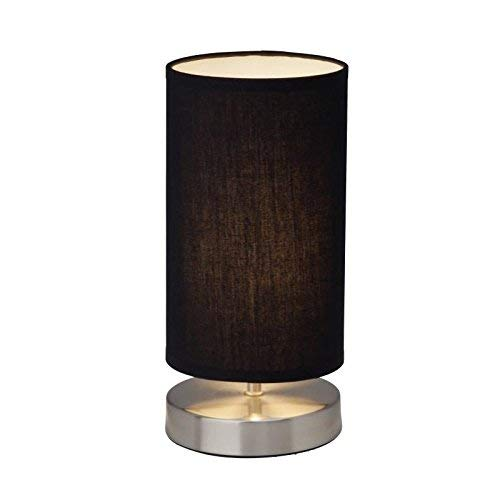 Brilliant AG 13247/06lámpara de mesa metal/Textil 40W E14Negro