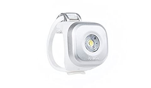 Knog Dot Unisex Adult Bicycle Light, Silver