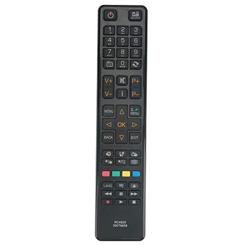 VINABTY RC4825 Ersatz Fernbedienung kompatibel mit Polaroid P40LCD12 Buchse DLED32911HD3D LZ49700 Grandin LD32VGB279S Telefunken D32H277N3C L55F243N3CV1 T32EX1320SAT D32H280Q3 L24H180A3D