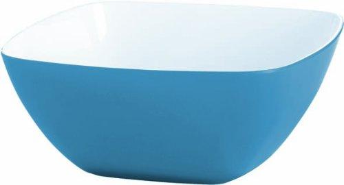 Emsa 513486 Vienna Bol Plastique Bleu eau/Blanc