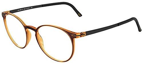 Schwarzkopf Brillen Silhouette TITAN ACCENT FULLRIM 2906 ORANGE Unisex