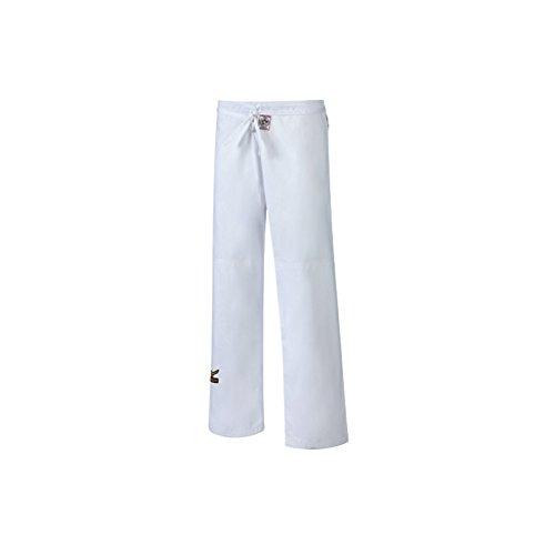 Pantaloni mizuno judo omologato ijf c/lacci bianco (2/2)