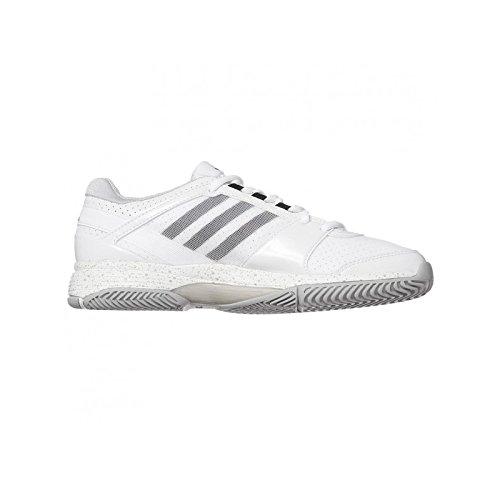 Zapatos Adidas Woman Barricade Team 3 W Blanco / Negro, Blanco Blanco