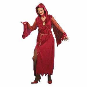 Königin der Unterwelt-Kostüm Halloween für Damen