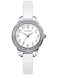 Viceroy Reloj Analogico para niñas de Cuarzo con Correa en Cuero 42200-05