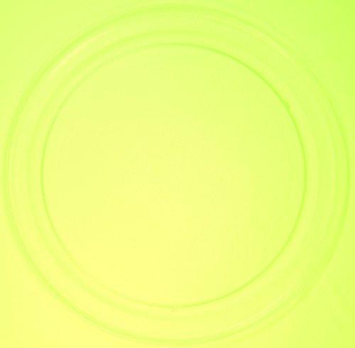 Mikrowellenteller / Drehteller / Glasteller für Mikrowelle # ersetzt Gaggenau Mikrowellenteller # Durchmesser Ø 36 cm / 360 mm # Ersatzteller # Ersatzteil für die Mikrowelle # Ersatz-Drehteller # OHNE Drehring # OHNE Drehkreuz # OHNE Mitnehmer
