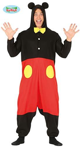 Guirca costume kigurumi topolino mickey mouse carnevale uomo 8863_ l