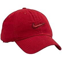 Nike Gorra con Visera H86 Essential, Unisex Adulto, 943091-618, Red Crush