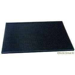 Coctelera Coctel Coctail bar mat alfombra de goma black large