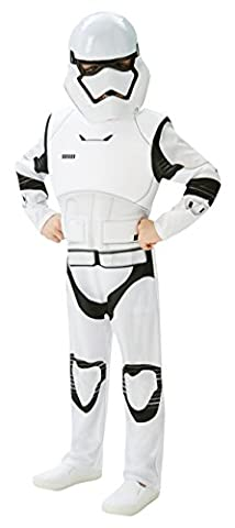Rubie's Official Child Star Wars Stormtrooper Deluxe Costume - Medium