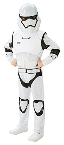 Star Wars Villain Trooper Disfraz Deluxe para niños, XL (Rubie'S 620269-XL)