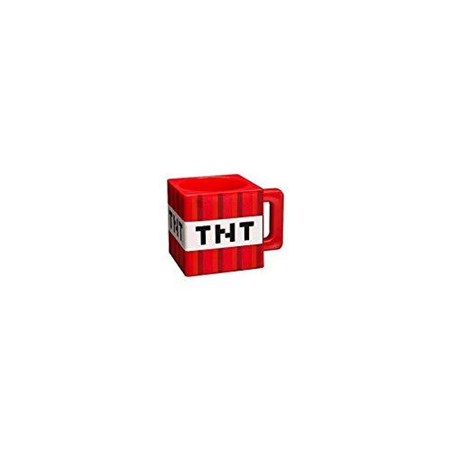 Minecraft 889343021824 Tasse Block, 290 milliliters, plastique, multicolore