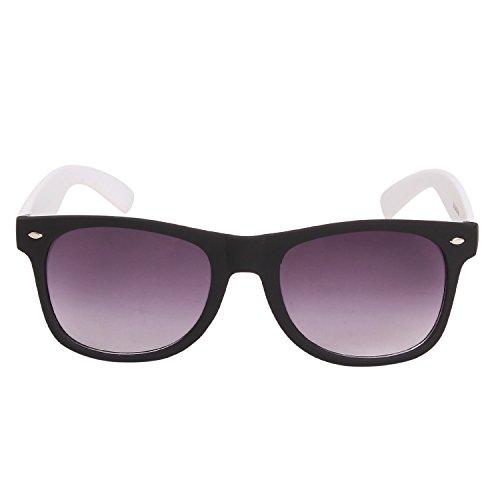 Louis Geneve Stylish & Fashionable Sunglasses for Men Wayfarer LG-SM-87-B-WHITE-GREY  available at amazon for Rs.139