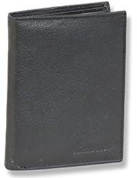 Rimbaldi - boulon portefeuille dans le portrait de Nappa fin noir Rindslederin