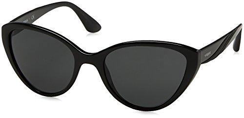 Vogue 0vo5105s w44/87, occhiali da sole donna, nero (black/grey), 55