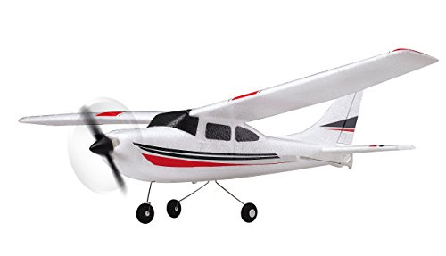 Amewi 24002 Avion RC - Aviones RC (Negro, Rojo, Color blanco)