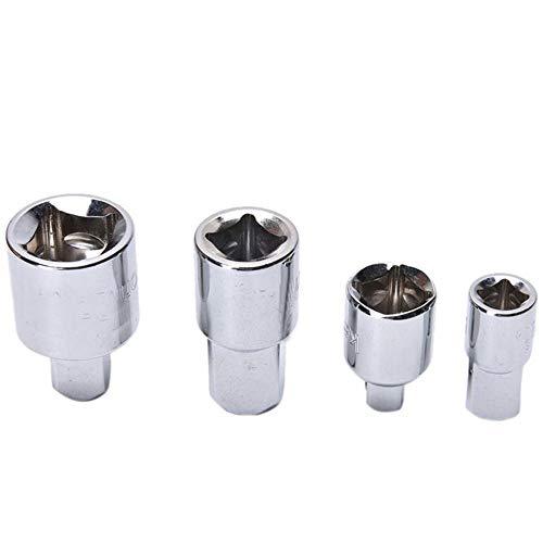 Chrom-hülse (Pinzhi Chrom Vanadium Stahl Hülse Adapter SchraubenDreher SchraubenSchlüssel Gelenk Konverter Hand Werkzeuge)