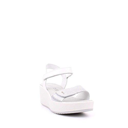 IGI&Co , Damen Sandalen Weiß / Silber